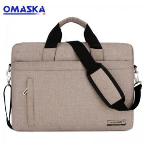 OMASKA factory business men travel hot selling custom logo 15.6inch waterproof computer carry bag