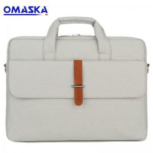 OMASKA laptop bag factory leisure men women new design custom 13inch 14inch 15inch waterproof computer travel bag