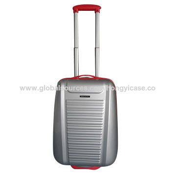 PC trolley luggage case with caster