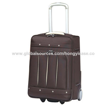 Polyester soft suitcase luggage