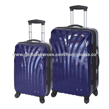 Pure PC hardshell luggage with trolley