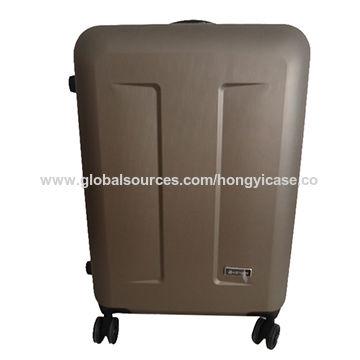 Single pole brush trolley ABS luggage