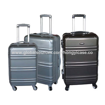 Stripe ABS luggage set
