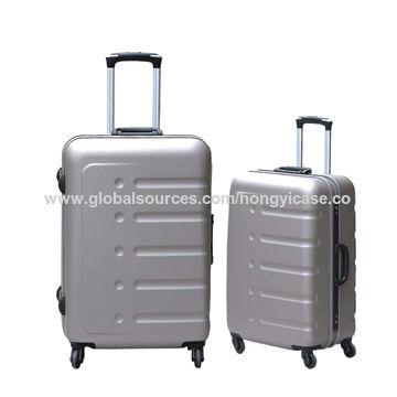 Strong aluminum frame suitcase with TSA lock