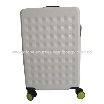 Stylish hard side PC trolley luggage for wholesale