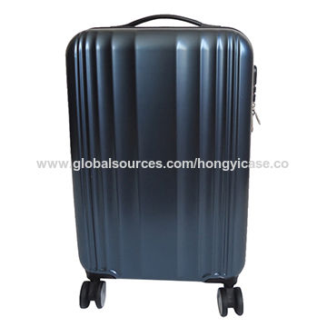 Superlight ABS printed hard shell luggage