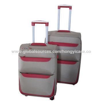 Top sale soft luggage set made of nylon
