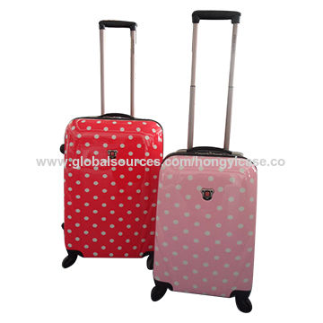 Travel PC luggage with patterns for kids