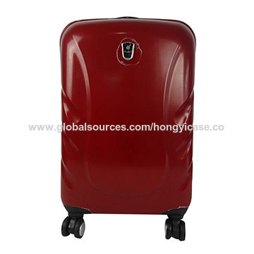 Trolley PC luggage case with 4 wheels Featured Image