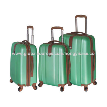 Vintage ABS Luggage Case with PVC Decoration