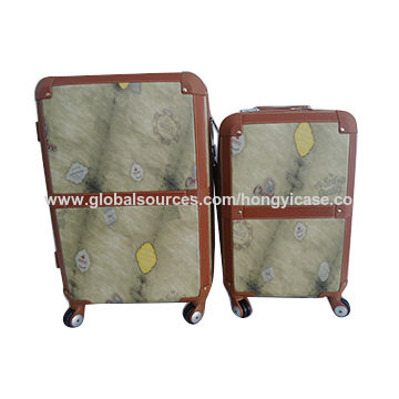 Vintage suitcase luggage, made of ABS