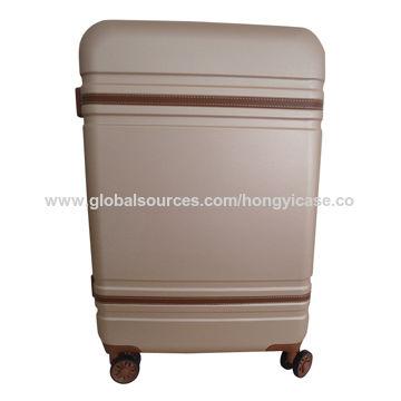 Waterproof ABS film hardside luggage