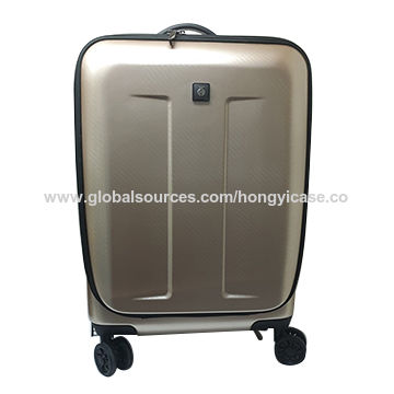 Wholesale ABS wheeled luggage bag Featured Image