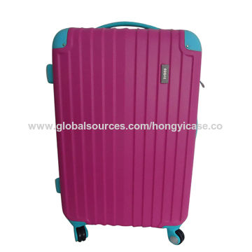 Wholesales 20/24/28 ABS fashion hard luggage