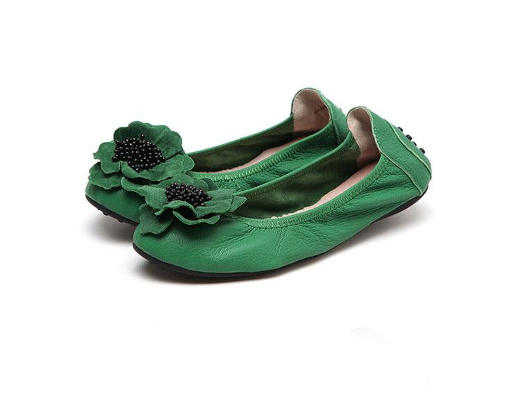 Green Calfskin Designer Dance Shoes Factory Featured Image