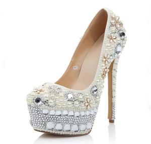 High Quality 16cm High Heel Women Famous Brand Pumps Shoes