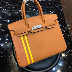 High Quality Tan Leather Bag Handbag For Lady 25cm 30cm From Bags Manufacturer