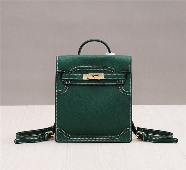 Hand Bags Handbags For Women Leather Shoulder Handbag Green Lychee Leather