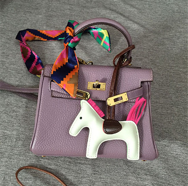 Pony hanging accessory fashion leather accessory women accessory bags accessory handbag decorations leatherware factory