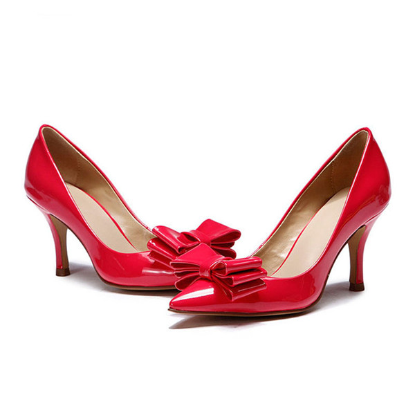Red Patent Leather Dress Shoes Fashion Featured Image