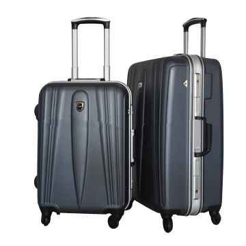 ABS aluminium trolley luggage, no zipper