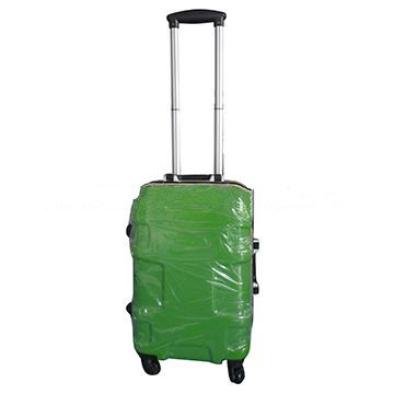 ABS luggage with aluminium frame