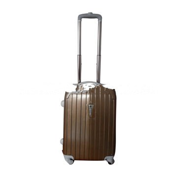 4-spinner wheels ABS suitcase