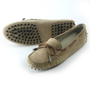 OEM Ladies Slip-On Suede Loafers Women Soft Sole Moccasins