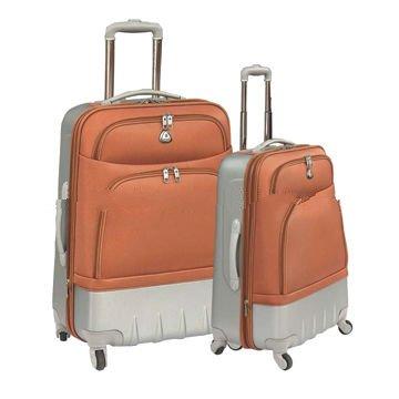 20/24/28 3-piece ABS+EVA luggage set 4 wheels
