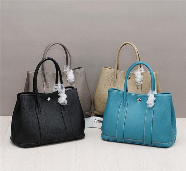 OEM Woman Bags Lychee Leather Designer Handbags