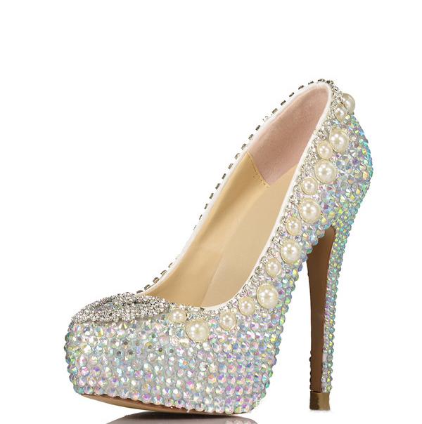15cm Super High Heel Sexy Platform Pumps Shoes Women