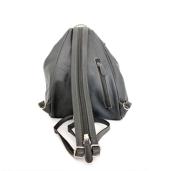 2019 New Arrivals Classic Simple Elegant Fashion Lady Black Backpack