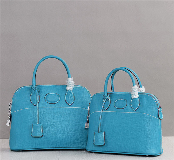 Jeans Blue Bags Handbags Fashion Tote Bag Pure Leather