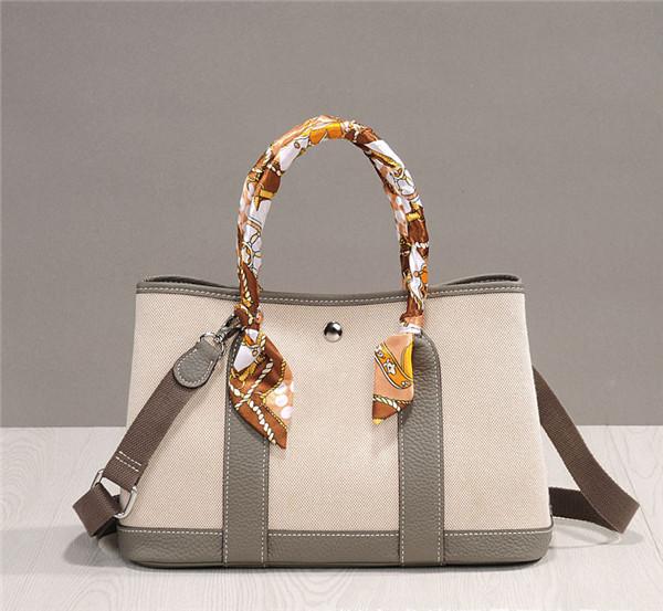 High Quality Paris Bags Handbags Ladies Canvas Garden Party Bag
