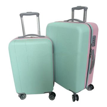 ABS suitcase luggage with trolley, measures 20/24/28
