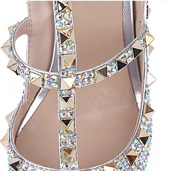 Ladies Genuine Leather Luxury Sandals With Strap