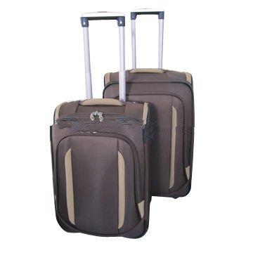3pcs Nylon Soft Luggage Sets