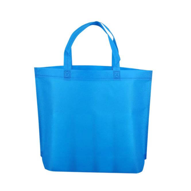 Wholesale Customized Printing Logo China Advertising Shopping Pp Nonwoven Bag Black White Blue Non-woven Promotional Bags